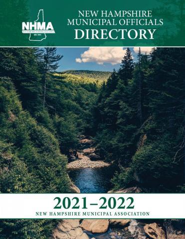 NHMA 2021-2022 Municipal Officials Directory Cover